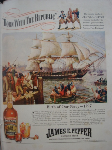 James E. Pepper Ad, 1940